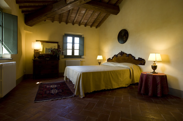 Camera matrimoniale a Ghizzano