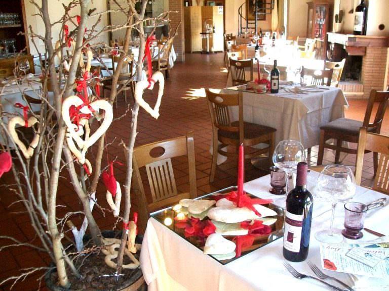 Sala da pranzo in resort