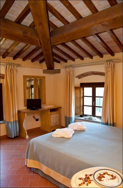 Camere con bagno in borgo toscano