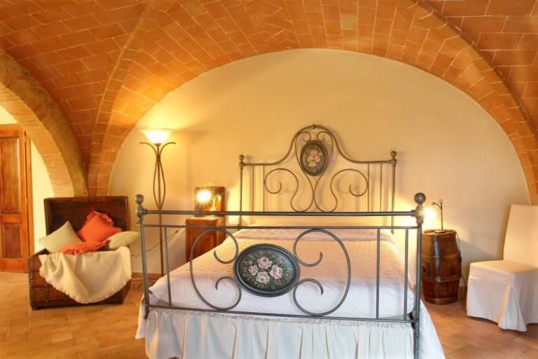Suite romantica in Toscana con jacuzzi