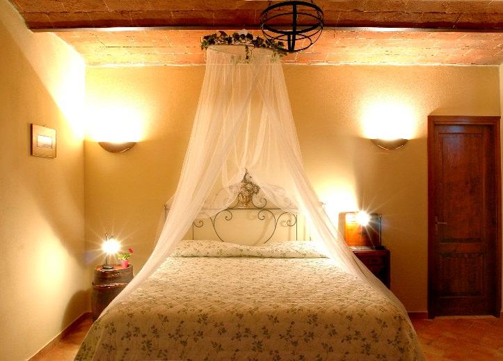 Camere romantiche in agriturismo toscano