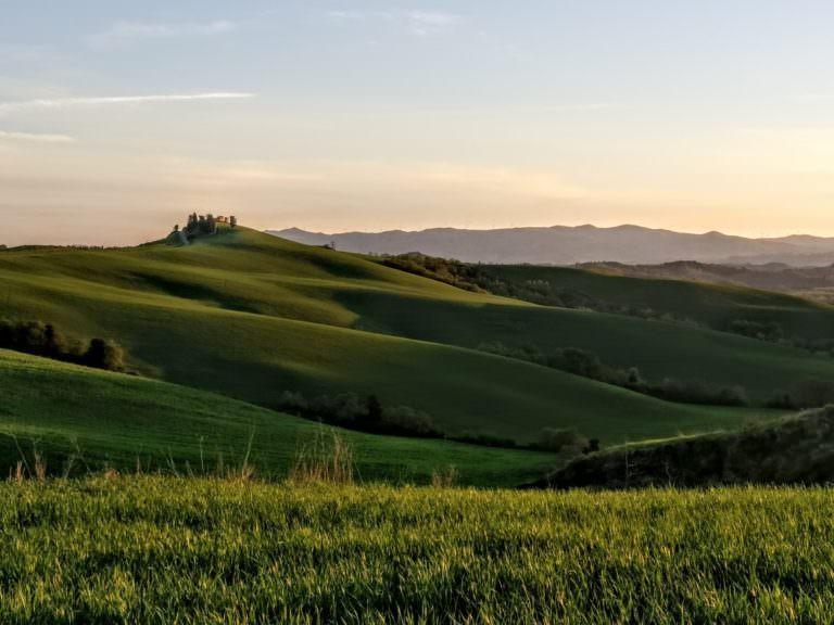 Passeggiate romantiche in Toscana