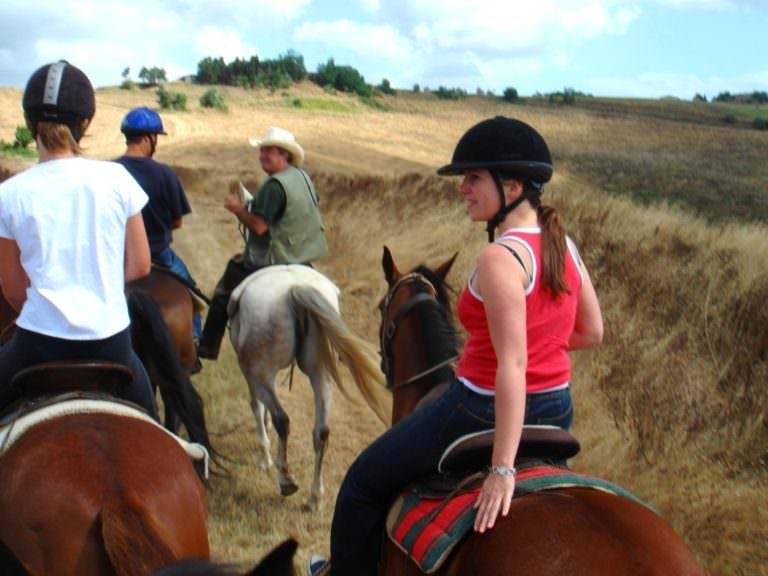 Percorsi a cavallo tra San Gimignano e Volterra