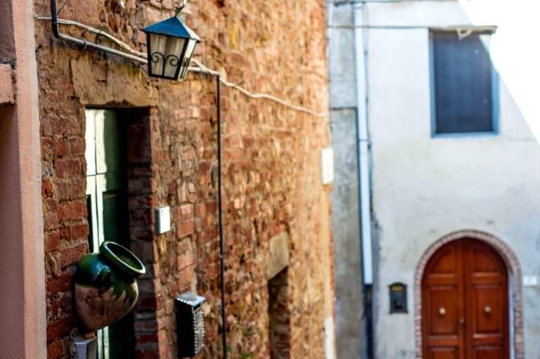 Vicoli del centro storico di Peccioli