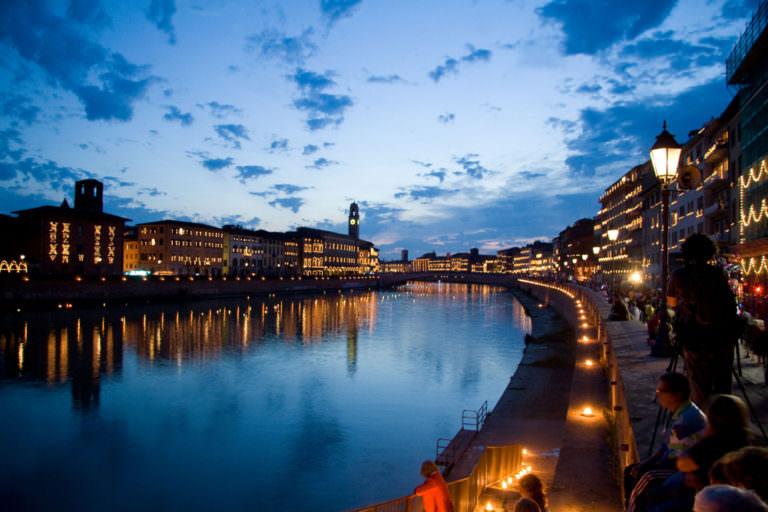 La Luminara di San Ranieri a Pisa