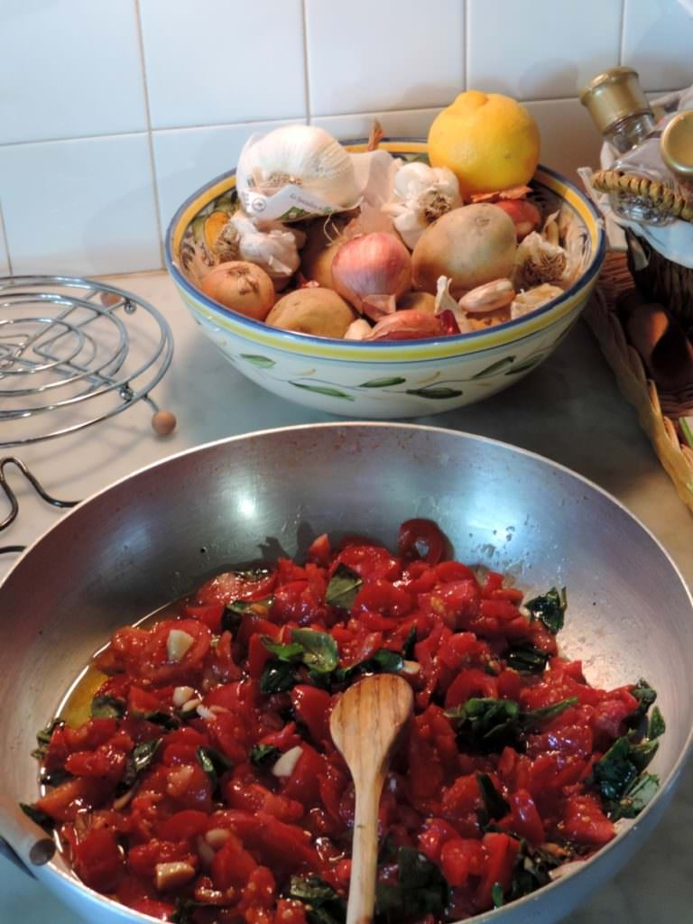 Pomodori dell'orto