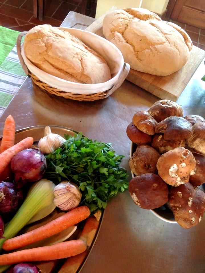 Cucinare con i porcini freschi