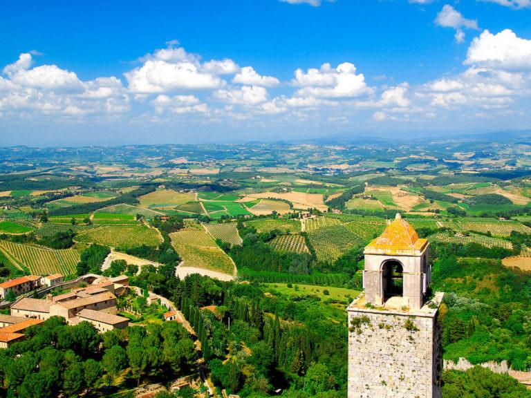 Visitare la provincia di Siena in primavera