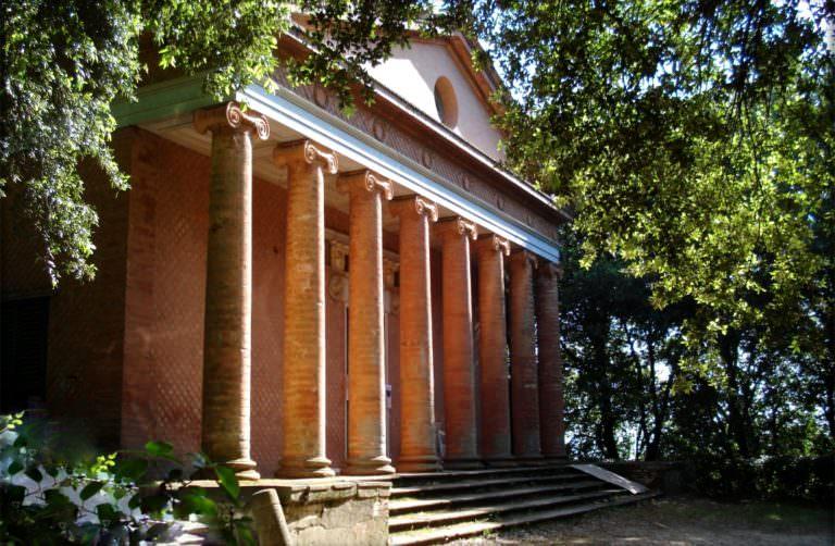 Picnic al tempio di Minerva di Montefoscoli