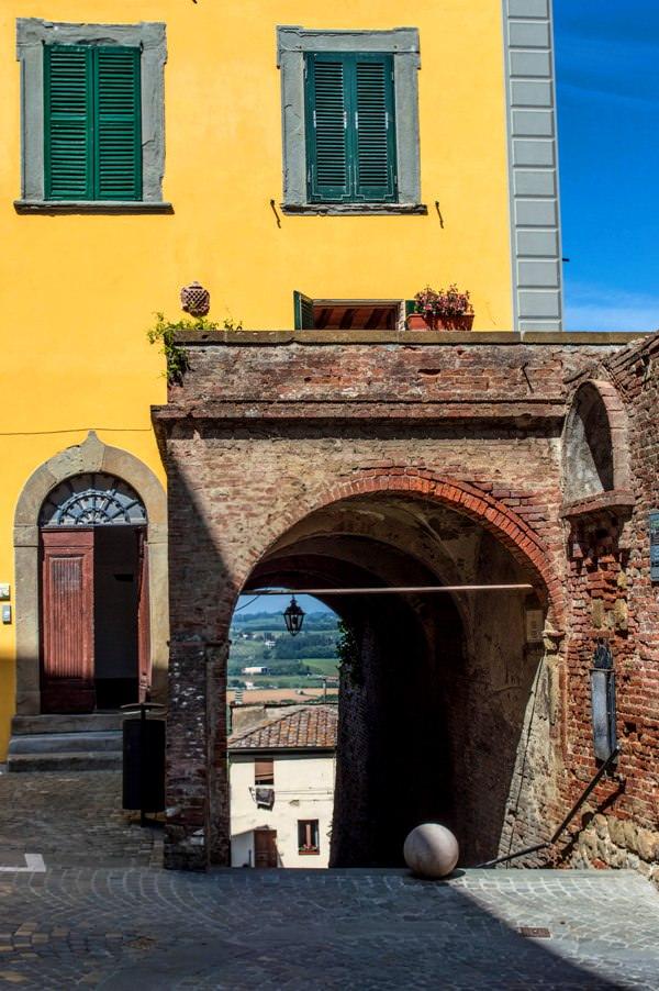 La Terrazza del centro storico toscano