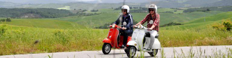 Giri in vespa per la Toscana