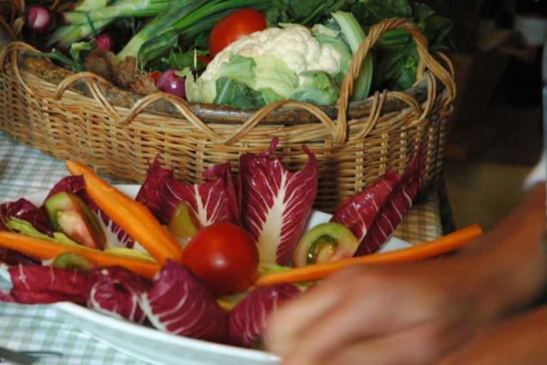 Cucinare con verdure stagionali