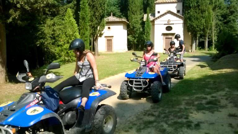 Escursioni guidate in quad